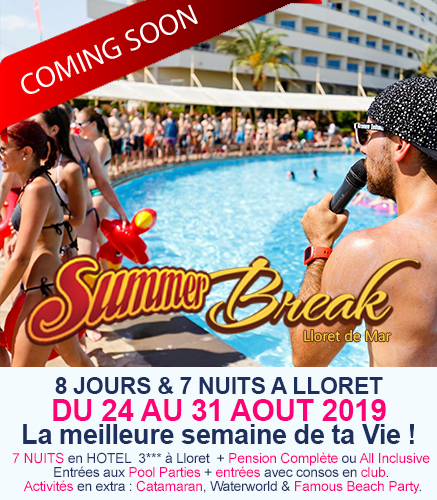 Summer Break 2016 Lloret de Mar