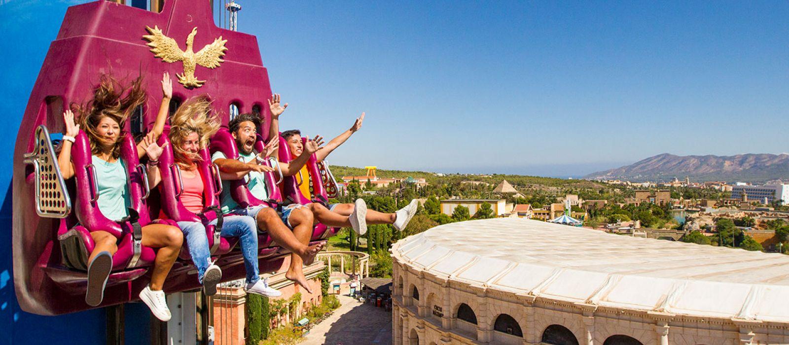 Hôtel Grand Luxor - Terra Mítica® Theme Park à Benidorm en ...